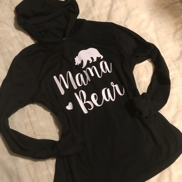 ae972f6ad7c7 Amazon Tops - Mama Bear Hoodie 🐻